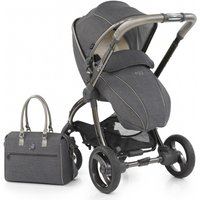 egg® Special Edition Stroller With Changing Bag and Seat Liner-Pewter Grey