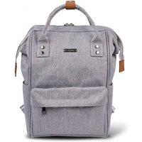 BabaBing Mani Backpack Changing Bag-Grey Marl (2020) - Backpack Gifts