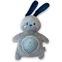 Angelcare Pabobo Stars Projector Plush With Music Rabbit-Grey - Music Gifts