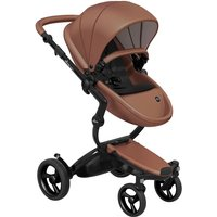 Mima Xari Single Pushchair with Black Chassis-Camel/Pure Black