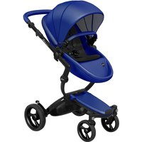 Mima Xari Single Pushchair with Black Chassis-Blue/Pure Black