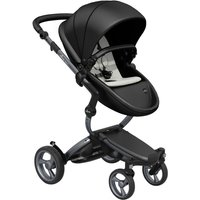 Mima Xari Single Pushchair with Graphite Chassis-Black/Stone