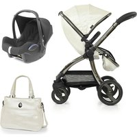 egg Special Edition® 2in1 Cabriofix Travel System with Free Changing Bag-Pearl (New 2020)
