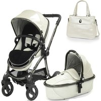 egg® Special Edition 2in1 Pram System With Liner and Changing Bag-Pearl (New 2019)