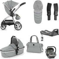 egg Luxury 3in1 Shell Travel System with ISOFIX Base-Platinum (NEW)