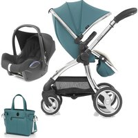 egg® Special Edition 2in1 Cabriofix Travel System With Changing Bag-Cool Mist (New 2019)