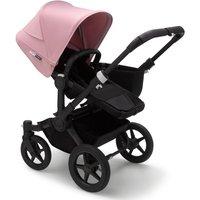 Bugaboo Donkey 3 Mono Pushchair-Black/Black-Soft Pink