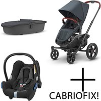 Quinny VNC 3in1 Travel System-Graphite Twist (NEW)