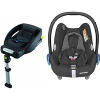 Maxi Cosi Cabriofix Group 0+ Car Seat With Easyfix Base-Essential Black (NEW 2020)