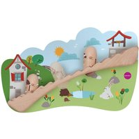 Oribel VertiPlay Wooden Wall Toys -Jack and Jill