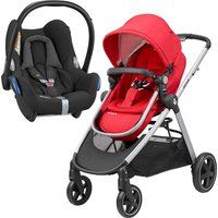 Maxi Cosi Zelia 2in1 Cabriofix Travel System-Nomad Red (NEW 2019)