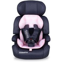 Cosatto Zoomi ( 5 Point Plus) 1/2/3 Car Seat- Golightly Pink