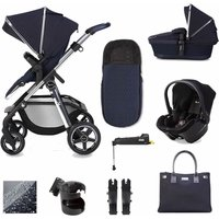 Silver Cross Pioneer Simplicity Plus and Isofix Base Bundle-Sapphire (2020)