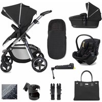 Silver Cross Pioneer 12 Piece Dream and I-Size Base Bundle-Pepper (2020)