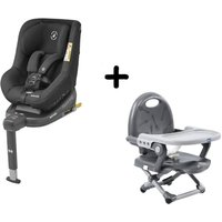 Maxi Cosi Beryl Group 0+1/2 ISOFIX Car Seat With FREE Chicco Booster Seat-Authentic Black