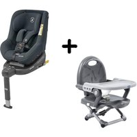 Maxi Cosi Beryl Group 0+1/2 Car Seat With FREE Chicco Booster Seat-Authentic Graphite