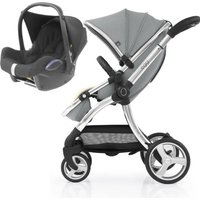 egg® 2 2in1 Cabriofix Travel System-Monument Grey (NEW)