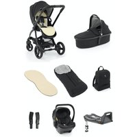 egg® 2 Luxury 3in1 Shell Travel System with ISOFIX Base-Just Black (NEW)