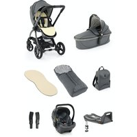 egg® 2 Luxury 3in1 Shell Travel System with ISOFIX Base-Jurassic Grey (NEW)