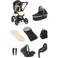 egg® 2 Luxury 3in1 Pebble Pro Travel System with Familyfix2 Base-Diamond Black (NEW)