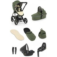 egg® 2 Luxury 3in1 Pebble Pro Travel System with Familyfix2 Base-Olive (NEW)