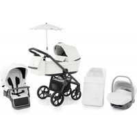BabyStyle Prestige 3 3in1 Travel System Grey Frame/Black-Blizzard