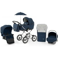 BabyStyle Prestige 3 3in1 Travel System Classic Frame/Black-French Navy