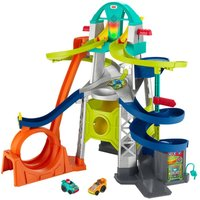 Fisher Price Little People Wheelies Launch & Loop Playset (NEW)