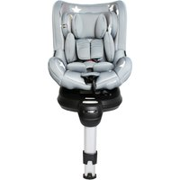 My Babiie Orbit Group 0+/1 Spin Car Seat-Grey Stars (MBCS360GS)