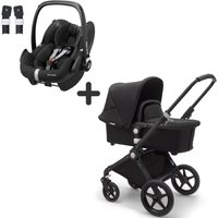 Bugaboo Lynx and Maxi Cosi Pebble Pro Travel System Bundle-Black/Black