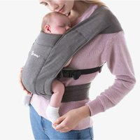 Ergobaby Embrace Baby Carrier-Heather Grey (2020) - Baby Gifts