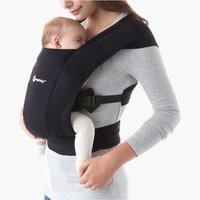 Ergobaby Embrace Baby Carrier-Pure Black (2020) - Baby Gifts