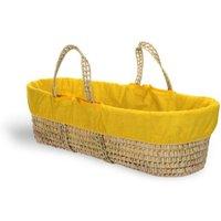 Clair De Lune Colour Pop Palm Moses Basket-Sunshine Yellow