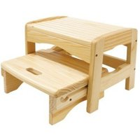 Safety 1st Wooden 2 Step Stool (New)