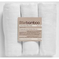 Little Bamboo 3 Pack Muslin Baby Wraps - Baby Gifts