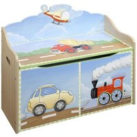 Teamson Transportation Toy Chest (9940A) - Toy Gifts