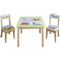 Teamson Transportation Table & 2 Chair Set (9946A) - Furniture Gifts