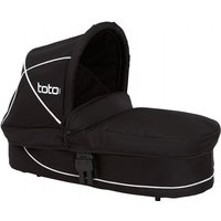 Tippitoes Toto Carrycot-Black