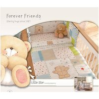 Forever Friends Little Star Cot/Cot Bed Quilt - Friends Gifts