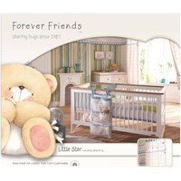 Forever Friends Little Star Lined Tab Top Curtains - Friends Gifts
