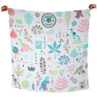 Weegoamigo Printed Muslin Wraps-World Science - Science Gifts