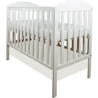 Little Babes Nicki Cot-White - Furniture Gifts