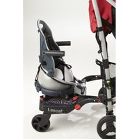 Buggypod Perle Clip On Board/Booster Seat-Fresian Cow