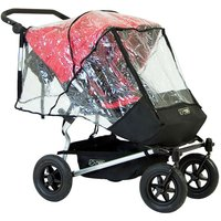 Mountain Buggy Duet Double Storm Raincover (New) - Kiddies Kingdom Gifts