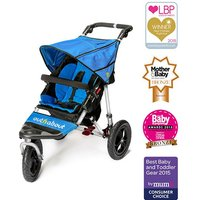 Out n About Nipper Single 360 V4 Stroller-Lagoon Blue - Kiddies Kingdom Gifts
