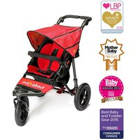 Out n About Nipper Single 360 V4 Stroller-Carnival Red - Kiddies Kingdom Gifts