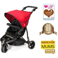 Out n About Little Nipper Stroller-Poppy Red