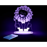 Aloka Multi Coloured Children's Night Light-Lion