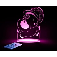 Aloka Multi Coloured Children's Night Light-Elephant