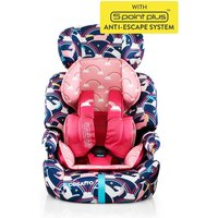 Cosatto Zoomi (5 Point Plus) 1/2/3 Car Seat-Magic Unicorns (New) - Unicorns Gifts